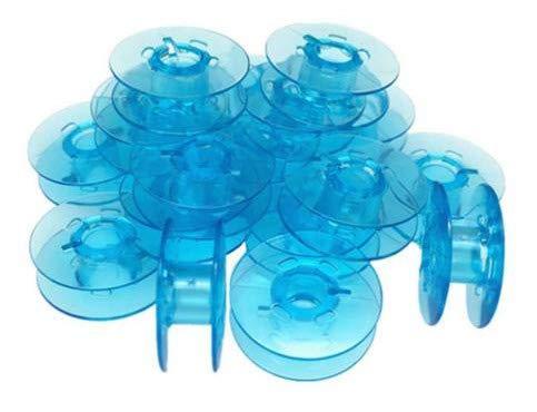 Sew-link Plastic Bobbins (20pk) for Pfaff Quilt Expression 2042, Quilt Expression 2044 ()