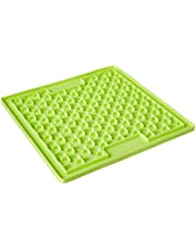 Lickimat Anti-Anxiety Toy Boredom Buster and Slow Feeder, Buddy Green