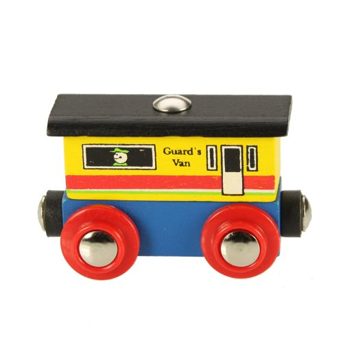 Bigjigs Rail Rail Name Guards Van (Rail Caboose)