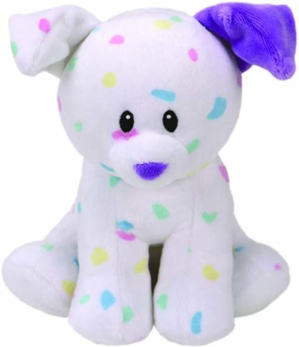 Ty Beanie Babies 82164 Sprinkles the Dog Baby