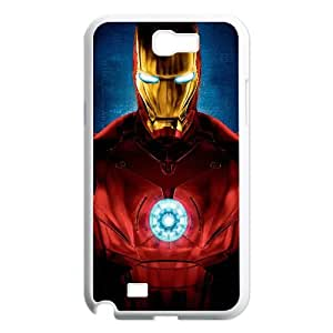 Iron Man Movie Samsung Galaxy N2 7100 Cell Phone Case White TPU Phone Case SV_105736