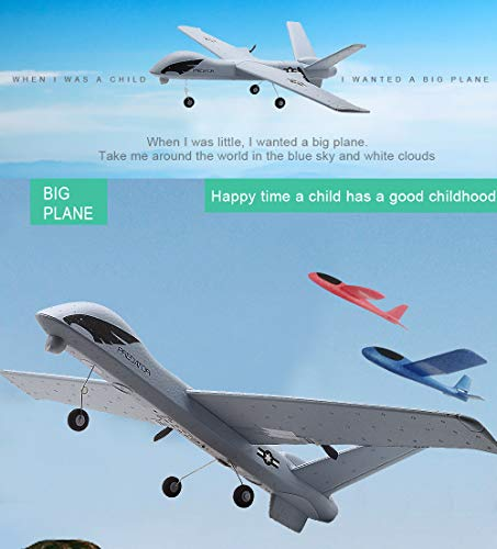 Studyset Flying Model Gliders RC Plane 2.4G 2CH Predator Z51 Remote Control RC Airplane Wingspan Foam Hand Throwing Glider Toy Planes by Studyset (Image #2)