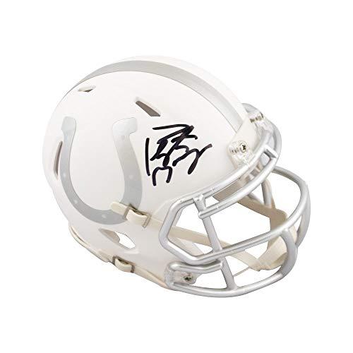 - Peyton Manning Autographed Indianapolis Colts Ice Mini Football Helmet Fanatics