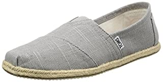TOMS Men's Classic Linen Grey Ankle-High Canvas Slip-On Shoes - 9M (B013EUP6EM) | Amazon price tracker / tracking, Amazon price history charts, Amazon price watches, Amazon price drop alerts