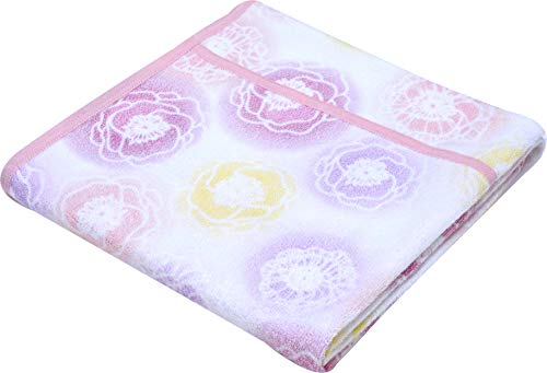 서쪽 강 (Nishikawa) 모 포 핑크 싱글 컴파일 빠지기 어려운 마이어 직 빨 연약 창백한 인쇄 1-OT-5604 / Nishikawa(Nishikawa) Towel Ket Pink Single Pile Hard To Fall Meyer Weave Washable Soft Rag Print 1-OT-5604