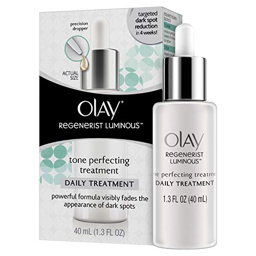 (Dark Spot Corrector Face Serum by Olay Regenerist Luminous Tone Perfecting Moisturizer, 1.3 Fl Oz)