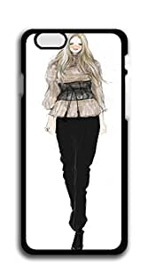 TUTU158600 Hard Case Back Custom PC iphone 6 cases 4.7 - Illustration black windbreaker map