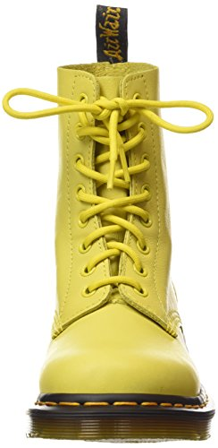 Bateau Dr Martens Jaune wild Virginia Pascal Femme Wild Chaussures Yellow Gelb Yellow qYOBqg