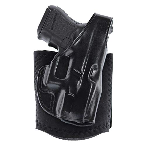 (Galco Ankle Glove/Ankle Holster for Walther PPK, PPKS (Black, Right-Hand))