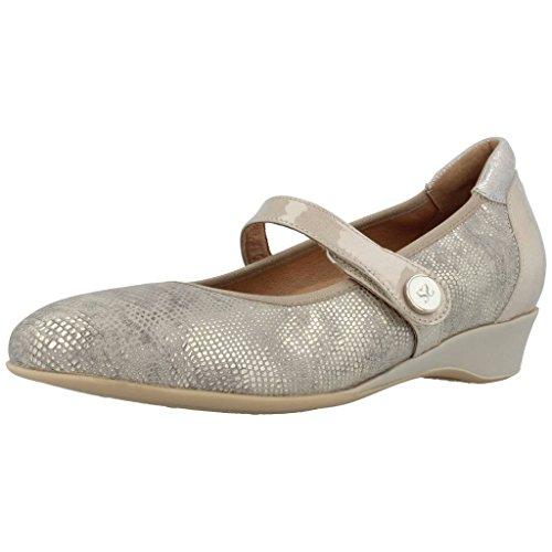 Piesanto Plateado Zapatos Modelo Mujer Plateado Color Piesanto Mujer Marca Para Cordones 8727 De rwaqrv