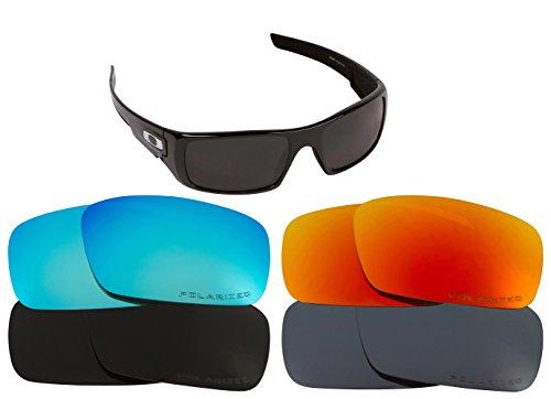 CRANKSHAFT Replacement Lenses by SEEK OPTICS to fit OAKLEY Sunglasses