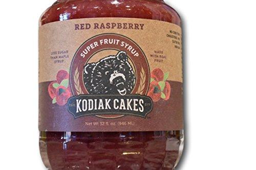 Kodiak Cakes Red Raspberry Super Fruit Syrup by Kodiak Cakes