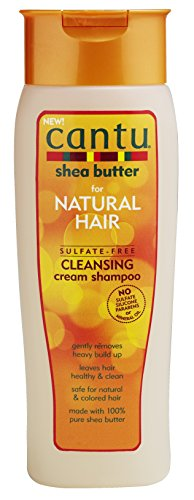 Cantu Sulfate-Free Cleansing Cream Shampoo, 13.5 Fluid Ounce (Best Shampoo For 4c Hair)