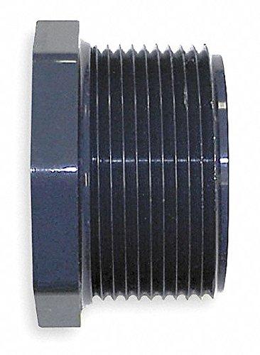 Nibco 839-072 4518-3-4 PVC Reducer Bushing, MPT x FPT, 1/2