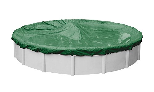 Rip-Shield Optimum Winter Pool Cover for Round Above Ground Swimming Pools, 18-ft. Round Pool - Robelle 5018-4