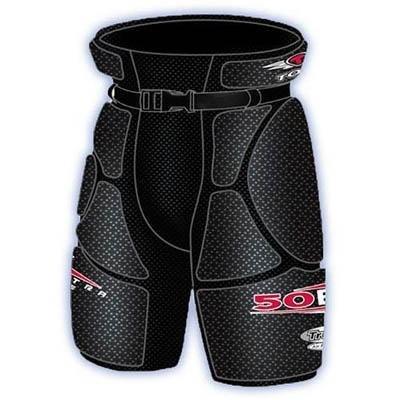 Tour Hockey Adult Grunt 50Bx Hip Pads, Medium, Size 02 ()