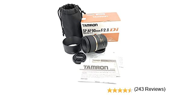 Tamron 272ENII SP AF 90 mm F/2.8 Di Macro 1:1: Amazon.es: Electrónica