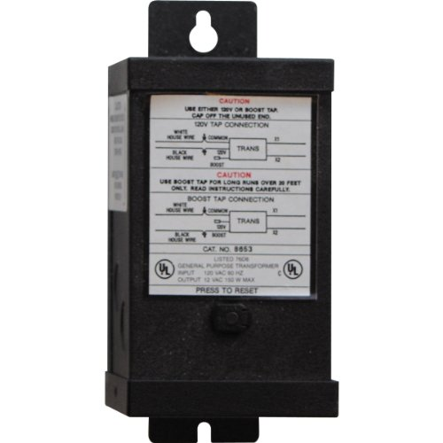 Progress Lighting P8653-31 13 Volt Transformer, Black by Progress Lighting