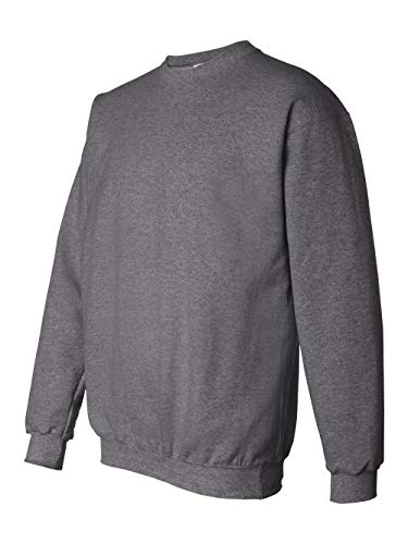 - Hanes Men's Ultimate Heavyweight Fleece Sweatshirt, Charcoal Heather, 3X-Large
