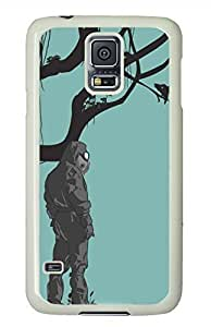 Trust Nature White Hard Case Cover Skin For Samsung Galaxy S5 I9600