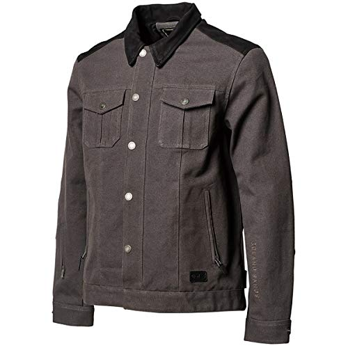 (Roland Sands Design Waylon Textile Men's Street Motorcycle Jackets - Charcoal/X-Large)