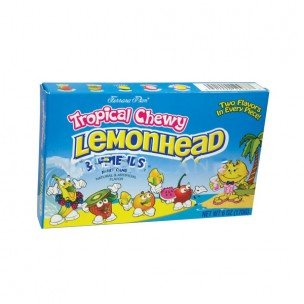 Ferrara Pan Lemonhead and Friends Chewy Tropical Candy by CHEWY LEMONHEADS & FRIENDTROPICAL 6 OUNCES 12 COUNT
