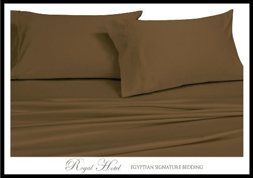 Royal Hotel's Solid Taupe 600-Thread-Count 4pc California...
