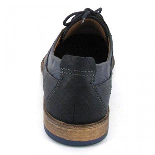 FRETZ men - Zapatos de cordones para hombre Gris azul Azul - azul