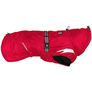 Hurtta Summit Parka Dog Winter Coat, Cherry, 18 in
