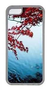 iPhone 5c case, Cute Maple Leaf iPhone 5c Cover, iPhone 5c Cases, Soft Clear iPhone 5c Covers