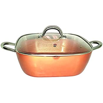 Amazon Com Inventel Sp Mc 2 Sp Mc02 Square Copper Pan Pro