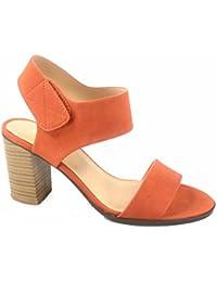 Wait-s Women's Fashion Open Toe Chunky Heel Ankle Strap Dress Sandal Shoes