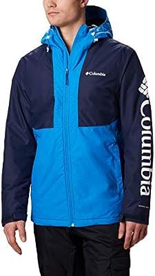 Columbia Timberturner Chaqueta, Hombre, Azul (Azure Blue/Collegiate Navy), S: Amazon.es: Ropa y accesorios