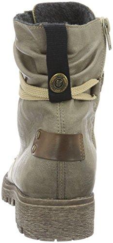 Rieker78530 - botas Mujer Beige (Kiesel/mogano)