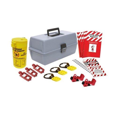 Brady 134035, Lockout Kit with Large Toolbox, 2 Kits