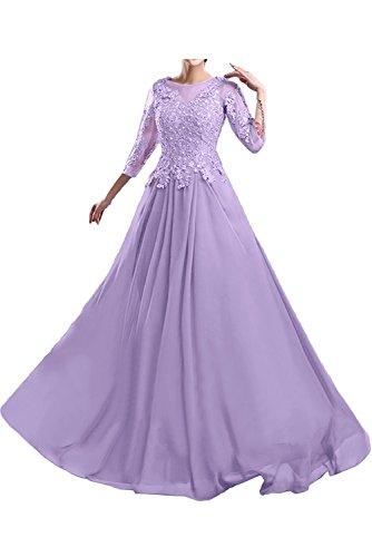 Ballkleider Marie Langes Brautmutterkleider Lilac Abendkleider Braut La Spitze Abschlussballkleider nR0FCTqqW