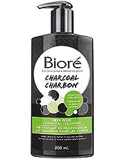 Biore Deep Pore Charcoal Cleanser, Facial Wash (200 mL), Black