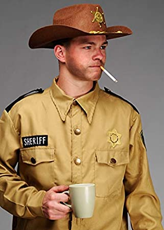 Magic Box Mens Stranger Things Style Sheriff Hopper Costume XL (44 ...