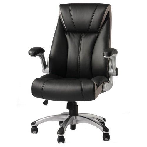 エグゼクティブチェア 肘掛け レザー 社長椅子 おしゃれ オフィスチェア ブレイズ BLAZE-1 B06XW6H8L9 Parent