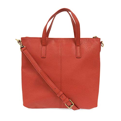 Joy Susan Kim Top Zip Medium Tote (Scarlet)
