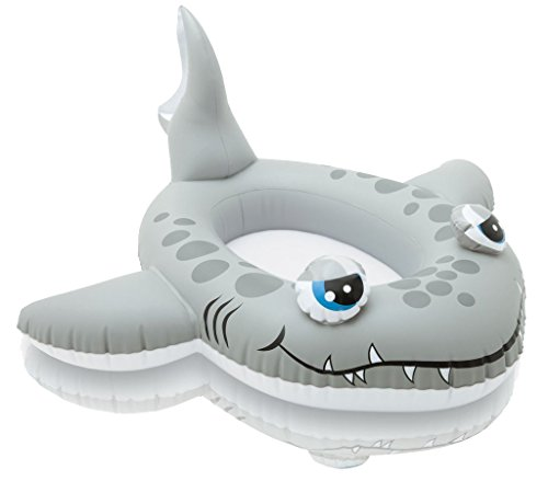 Intex 59380EP The Wet Set Inflatable Pool Cruiser, (Shark Float)