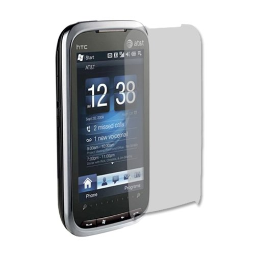 HTC Tilt 2 Screen Protector (AT&T), Skinomi TechSkin Full Coverage Screen Protector for HTC Tilt 2 Clear HD Anti-Bubble Film