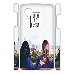 ZK-SXH - you are my person Personalized 3D Phone Case for Nexus 5, you are my person Customized 3D Cell Phone Case