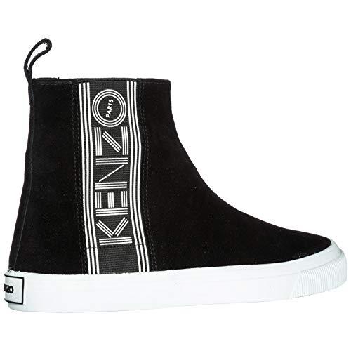 en Kenzo Kapri on Daim Noir Sneakers Slip Femme q6tU6xFP