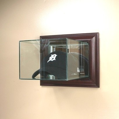 Brand new Amazon.com : Cap / Hat Wall Mounted Glass Display Case : Sports  IZ66