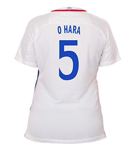 (Nike O. Hara #5 USA Home Soccer Jersey Rio 2016 Olympics Women's (M))