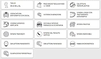 ATLANTA M PANTALLA 308X-ALV-11 SABBIA MATE CASCO INTEGRAL