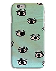 Eye Digital Drawing Graphic iPhone 6 Plus Hard Case Cover