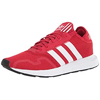 adidas Originals Men's Swift Essential Sneaker, Scarlet/White/Black, 9.5