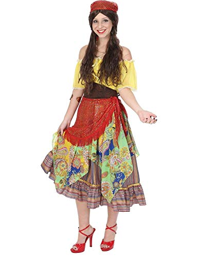Quality Adult Costumes (Ladies Gypsy Fortune Teller Fair Circus Festival Halloween Costume)